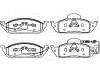 Pastillas de freno Brake Pad Set:163 420 12 20