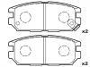 Brake Pad Set:MB857610
